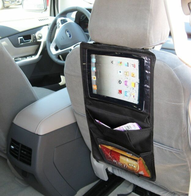 Zento Deals Car Back Seat Organizer Tablet IPad Case Sleeve Pouch Holder Bag