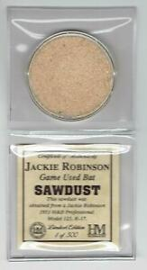 Jackie-Robinson-Highland-Mint-Game-Used-Bat-Sawdust-Limited-Edition-1-of-500