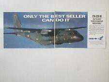 9/1991 PUB IPTN CASA CN-235M MILITARY TRANSPORT ARMEE AIR FRENCH AIR FORCE AD