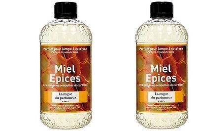 2 PARFUM INTERIEUR NID D' ABEILLE LAMPE DIFFUSEUR A CATALYSE huiles essentielles | eBay