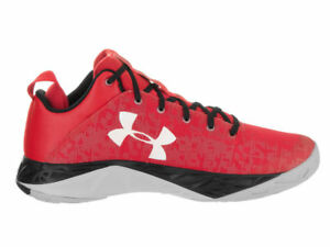 983bf141d535 Image is loading Under-Armour-Fireshot-Low-Curry-Sneakers-New-Red-