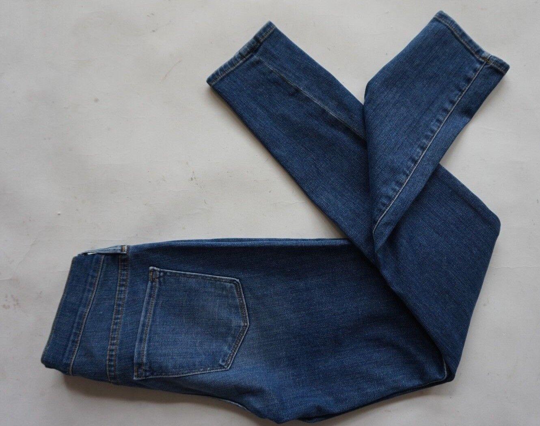 NWOT FRAME Jewell LSJ179 blauwe le skinny de jeane vrouwen grootte 25