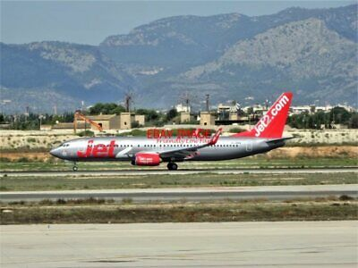 Efficient Photo Boeing 737-8mg G-jzhv Of Jet2 Taking Off From Palma De Mallorca Airport Lovely Luster