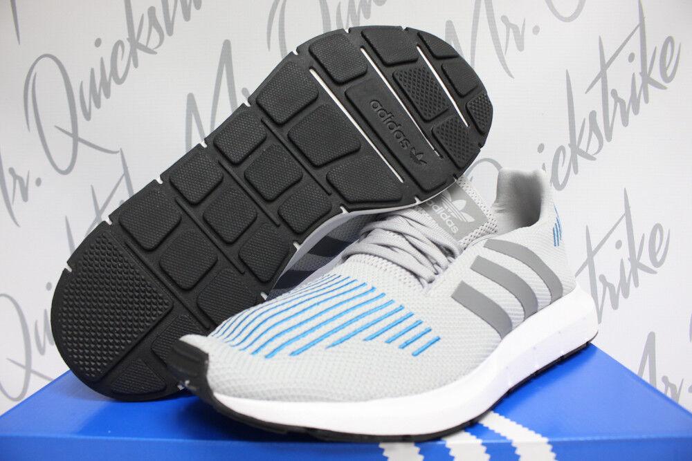 Adidas Swift ejecutar gris Cristal Azul blancoo Negro CG4108