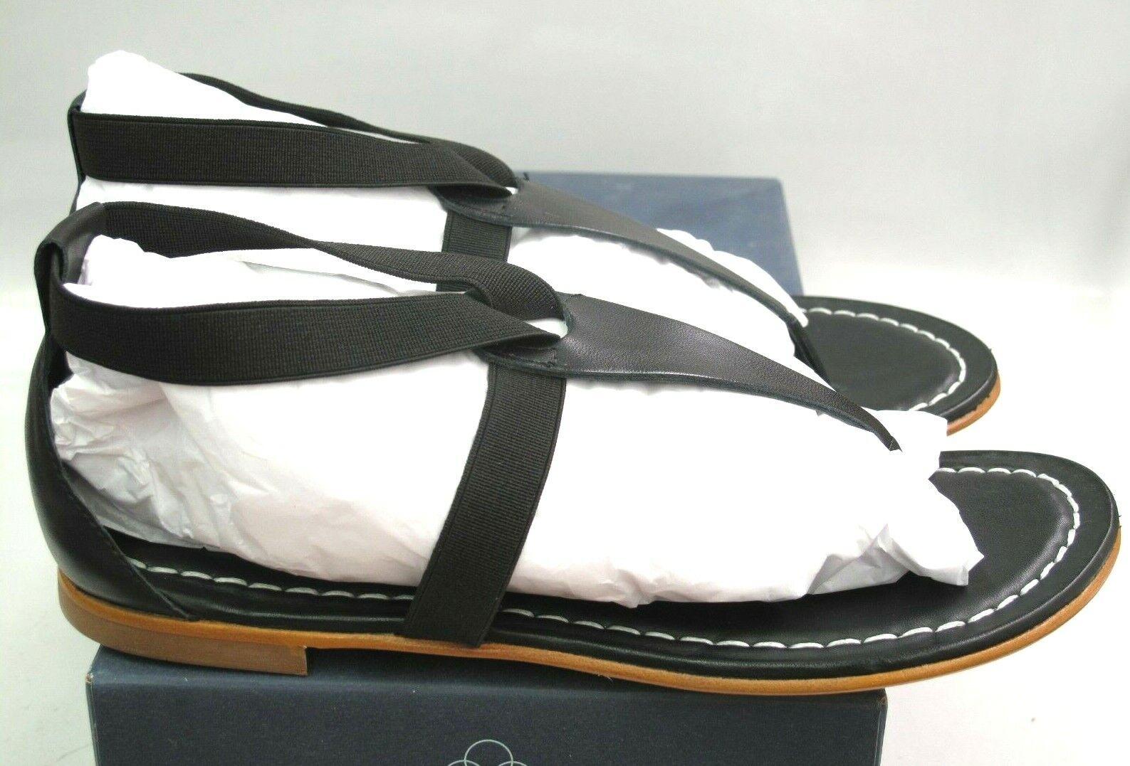 Nuevo En Caja Bernardo para Mujer Sandalia Negro Amapola T Correa Tamaño 6.5M al por menor  135