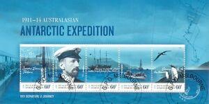 Australian Antarctic Territory-expedition Ist Question Feuille Fu/cto-2011 - Oiseaux-dition Ist Issue Sheet Fu/cto-2011-birdsfr-fr Afficher Le Titre D'origine