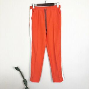 08ffa294e72 HUNTER TARGET Women s Size XS Orange Track Snap Pants Athleisure ...