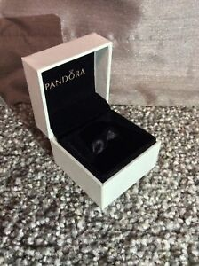 b49c09690 Image is loading Genuine-Pandora-Charm-Ring-Box-With-Black-Ribbon