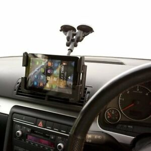 Car-Dual-Suction-Windscreen-Mount-Slim-Holder-for-Apple-iPad-Air-2-Pro-9-7-034
