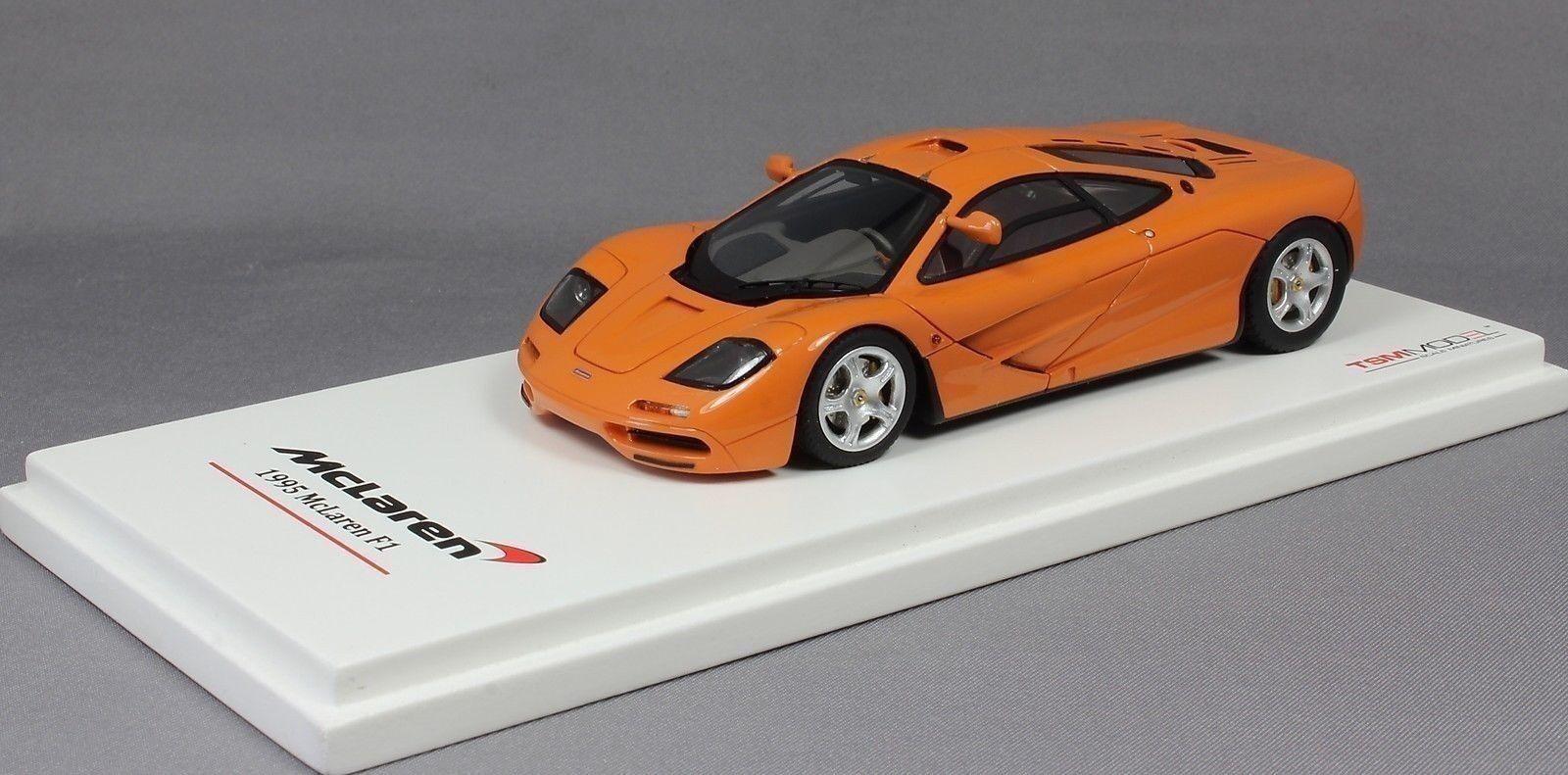 Truescale McLaren F1 'High Mirrors' in Papaya orange 1995 TSM134326 1 43 NEW
