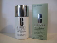 CLINIQUE - EVEN BETTER CLINICAL - dark spot defense  n° 1, 2, 3, 4     30ml.