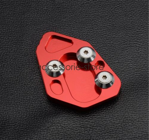 Kickstand Side Stand Extension Plate Pad For BMW R1200S F800R HP2 Sport