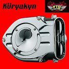 Kuryakyn Chrome Trap Doors for Standard Hypercharger for Air Cleaners 8482