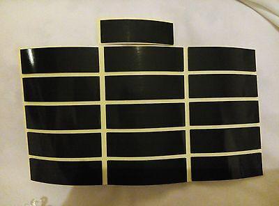 10 Doble Cara Cinta Adhesiva Coche Furgoneta Almohadillas de placa de número de registro 75X25X1mm