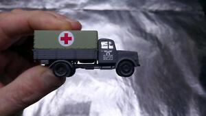 * Herpa Military 746052 Mercedes-Benz Medical Service Truck Deutsche Reichsbahn - Wroclaw, Polska - Zwroty są przyjmowane - Wroclaw, Polska