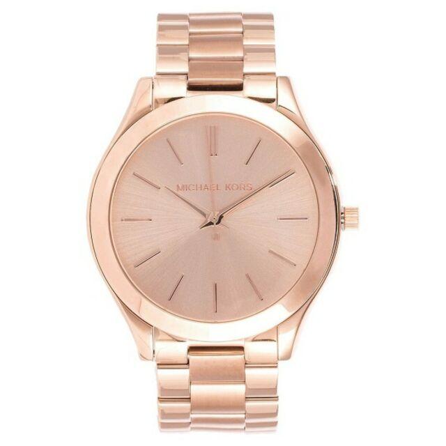 Michael Kors Runway Rose Gold Quartz 42mm Women Watch MK3197