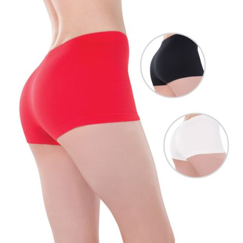 Ladies Boy Booty Shorts Hot Pants Boxers Stretch Soft Under Fancy Dress Costume