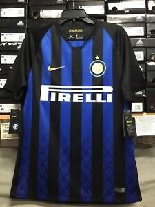premium selection 948d4 e0c9f Details about nike inter milan jersey 2018-19 Size Large Only