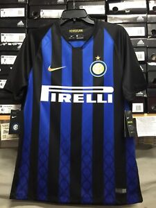 premium selection 063da 64010 Details about nike inter milan jersey 2018-19 Size Large Only