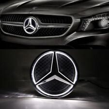 Illuminated Car Front LED Grille Logo Emblem Badge Light For 06-13 Mercedes Benz