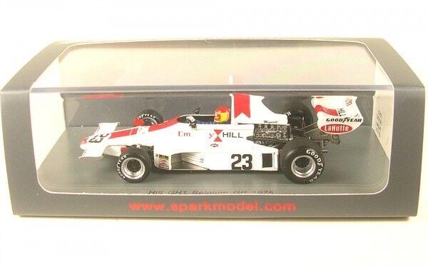 Hill gh1 n. 23 BELGIUM GP Formula 1 1975 (Tony brezza)