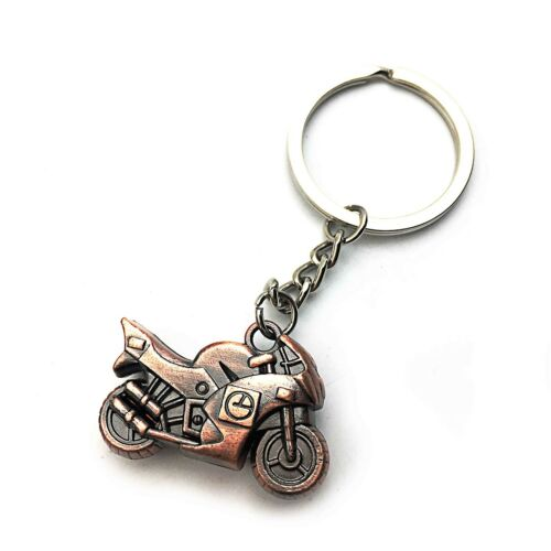 Fashion Metal 3D Motorcycle Keychain Car Key Chain Ring Holder Keyfob Great Gift