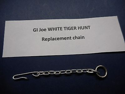 GI JOE A//T  WHITE TIGER HUNT CAGE CHAIN *REPLACEMENT*