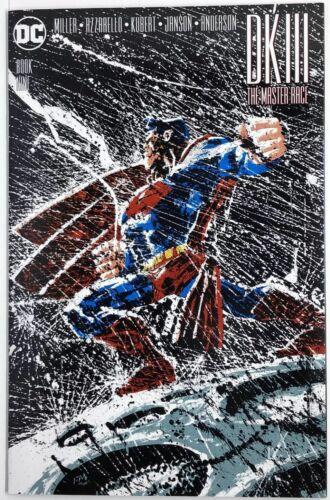 DC's Dark Knight III Master Race #9 Frank Miller Superman Variant NM-//NM