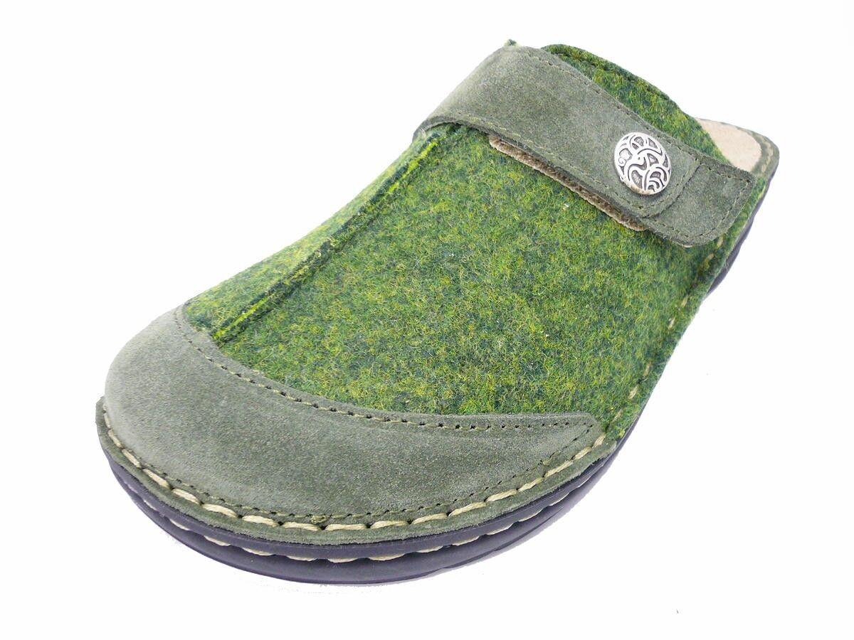 2c4e60489d1 Rohde CREMONA Mujer ZUECOS Zapatillas Zapato abierto 6173 HUNTER GREEN