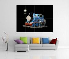 BANKSY 'THOMAS THE TANK ENGINE' GIANT WALL ART PICTURE PRINT POSTER G122