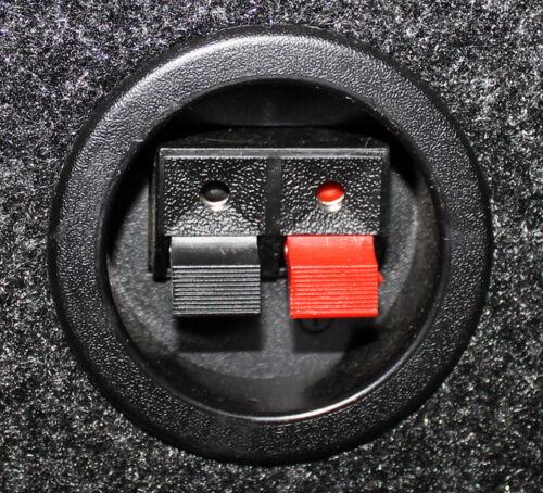"Q-Power 15/"" Single Empty Vented Ported Car Audio Subwoofer Sub Box Enclosure"
