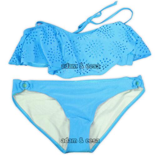 Women Neon Halter Neck Padded Bikini Set Summer Beachwear Party Swimming Costume