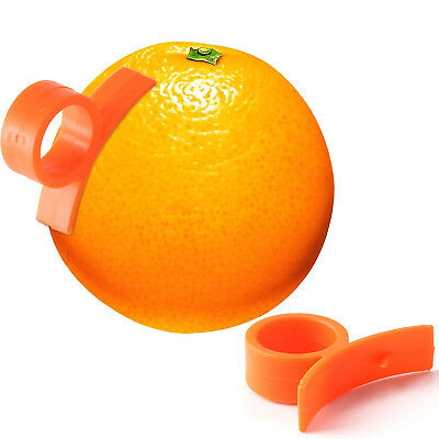 1pc Orange Lemon Peller Parer Dito Tipo Orango O Verde-