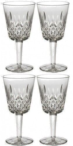 Waterford Classic Lismore Goblet Pair Two Sets 4 Glasses Brand New