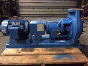 Image Is Loading Ingersoll Dresser Pump 10 Hp 4x3x10