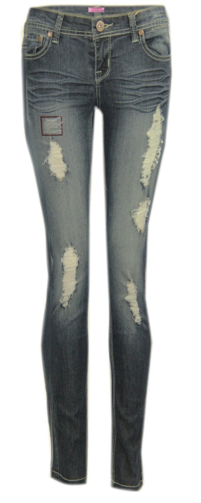 Gamba W68 women Jeans Aderenti Delle Signore Pantaloni Casual Taglie Comode