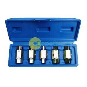 6Pc-Oil-Sump-Drain-Fill-Plug-Brake-Key-Set-Axles-GearBox-Garage-Tool-Car-Repair