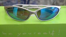 PRORIDER Unisex Sports Sunglasses Org. Price: $99 Silver - Mirrored *Blue*