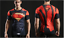 Mens-Marvel-Compression-Armour-Base-Layer-Gym-Top-Superhero-Cycling-T-shirt-fit thumbnail 11