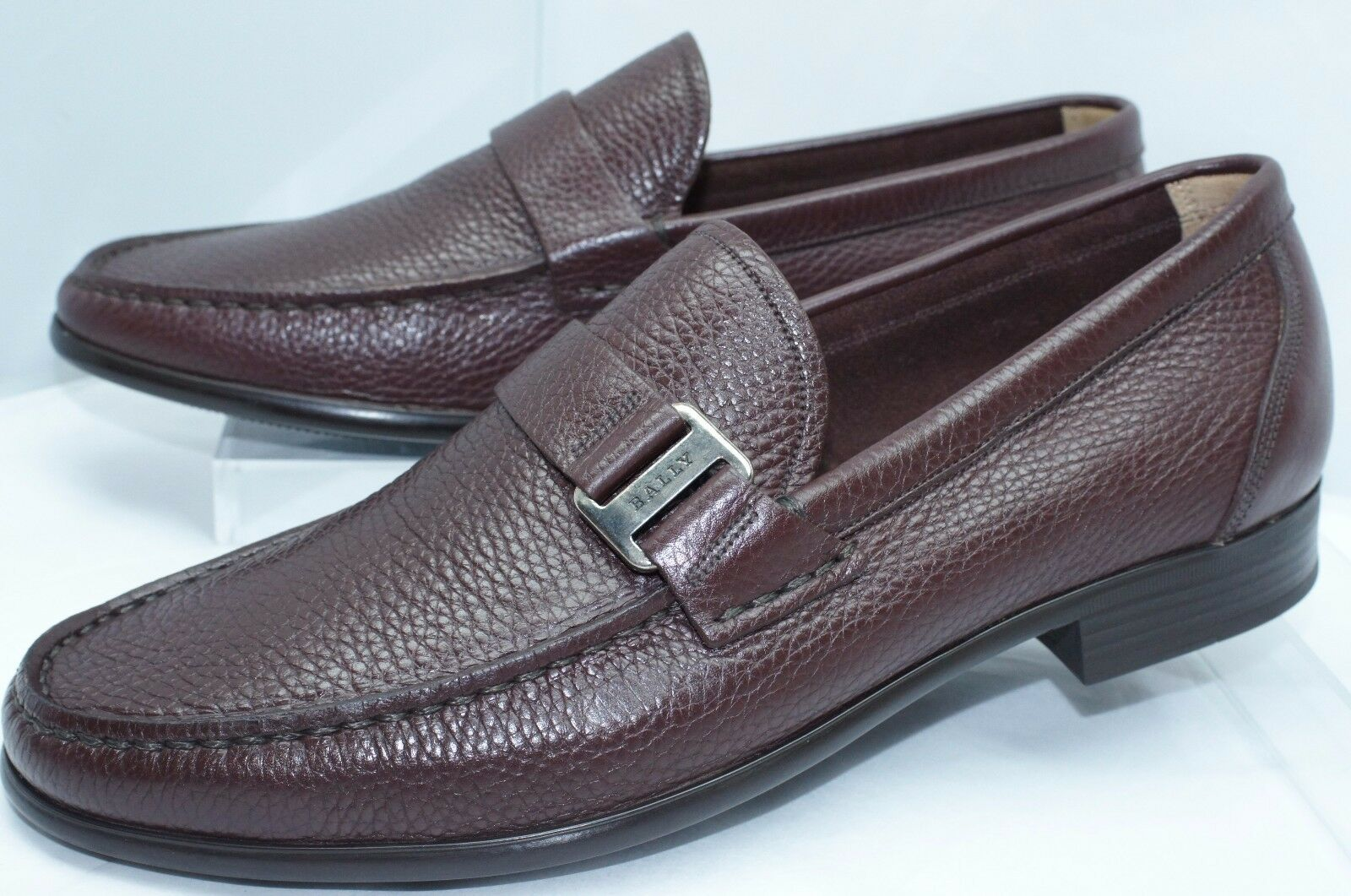 check out a9dad 56c24 New Bally Men s Shoes Drivers Colbar Size 12 Loafers Dress Dress Dress  Leather 9c429c