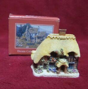 Lilliput Lane Honeysuckle Cottage Miniature W/ box Excellent Condition