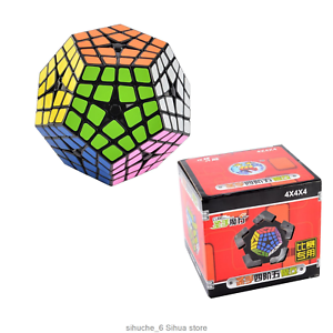 New Twist Puzzl Shengshou 4X4 Megaminx Brain Teaser Magic Cube Master Speed Toys