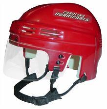 HURRICANES Red Mini Hockey Helmet