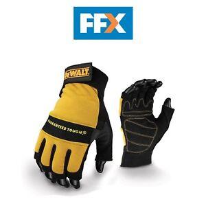 DeWalt-DPG23L-EU-Fingerless-1-2-Synthetic-Padded-Leather-Palm-Gloves-Large
