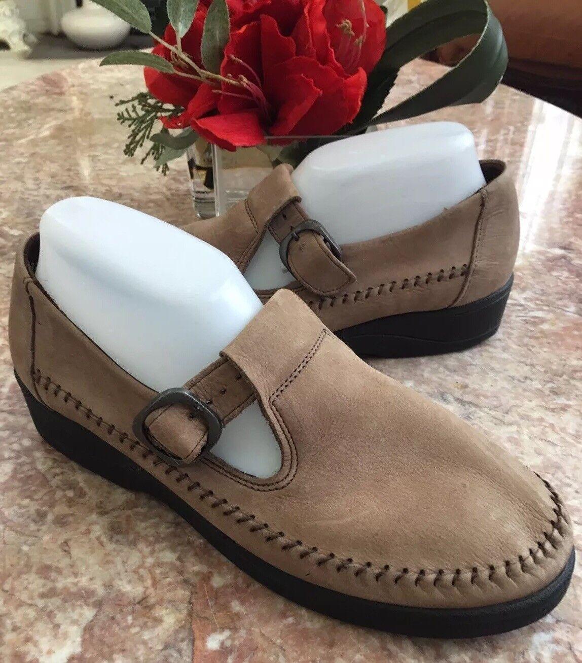 elementi di novità New Dexter USA comfort donna's Tan Tan Tan Suede Mary Jane scarpe Dimensione 10 M  al prezzo più basso