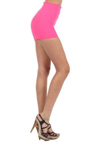 High Waist Shorts Leggings Zipper Pants Wide Waist Band  GY13068