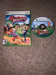 Backyard Sports: Sandlot Sluggers Xbox 360, 2010 Complete ...