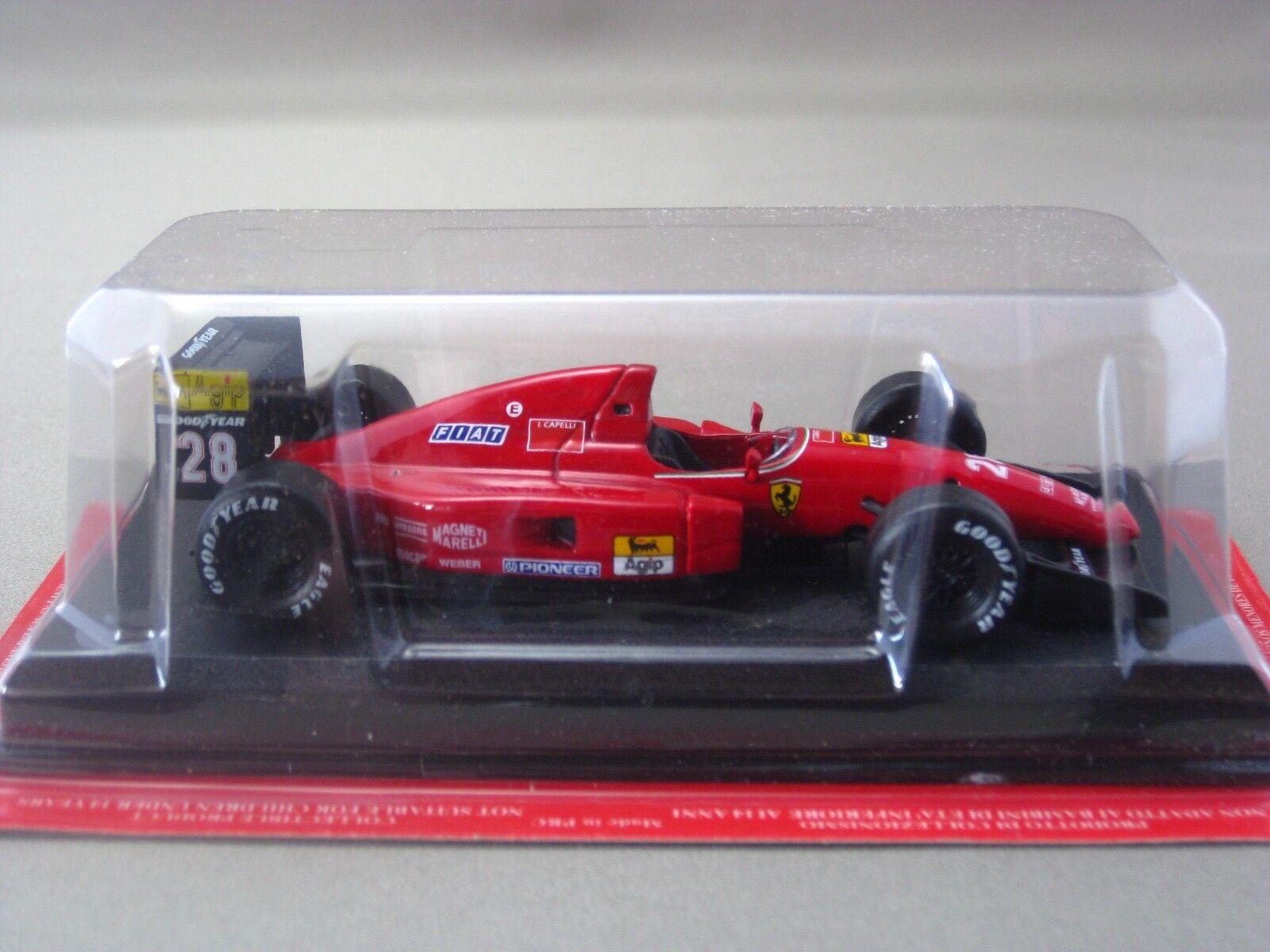 Ferrari F92 A IVAN CAPELLI 1992 hachette 1 43 Diecast modello auto Vol.40