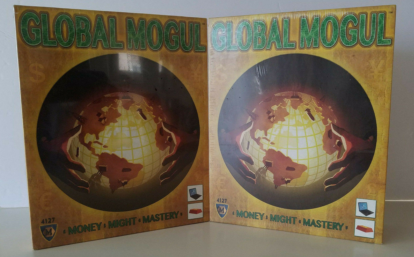 New Lot Of 2 Global Mogul Broad Game Opportunity Acquisition Management Sealed