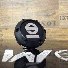 ORIGINALE SPARCO emblema Cerchi Coperchio Coperchio mozzo nero argento xc987 81310513
